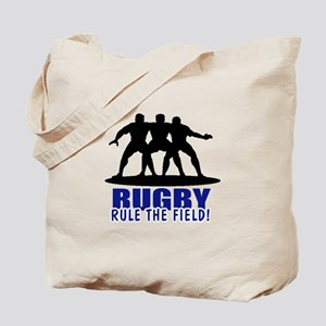 Rugby Rule The Field Tote Bag