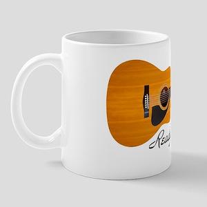acoustic guitar ready for jammin Mug