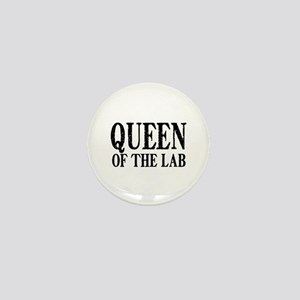 Queen of the Lab Mini Button