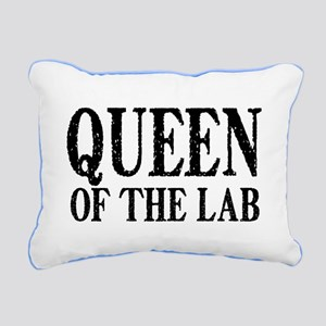 Queen of the Lab Rectangular Canvas Pillow