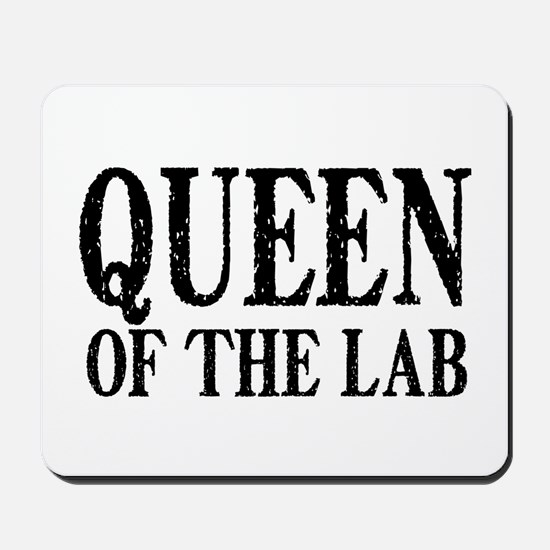 Queen of the Lab Mousepad