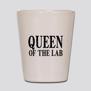 Queen of the Lab Shot Glass