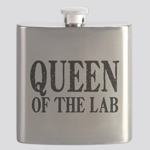 Queen of the Lab Flask