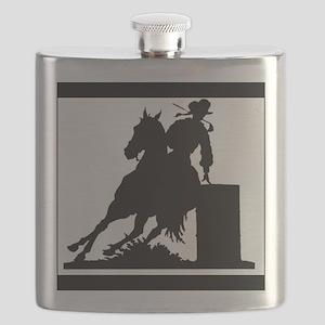 Barrel Racing Flask
