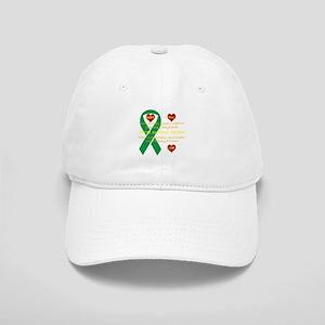 Hope Pray Love Kidney Ribbon Baseball Cap