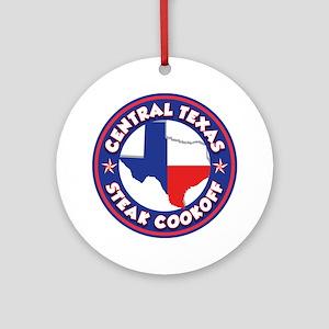 CTSC Logo Round Ornament