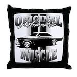 Black car Throw Pillow