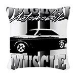 Black car Woven Throw Pillow