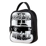 Black car Neoprene Lunch Bag