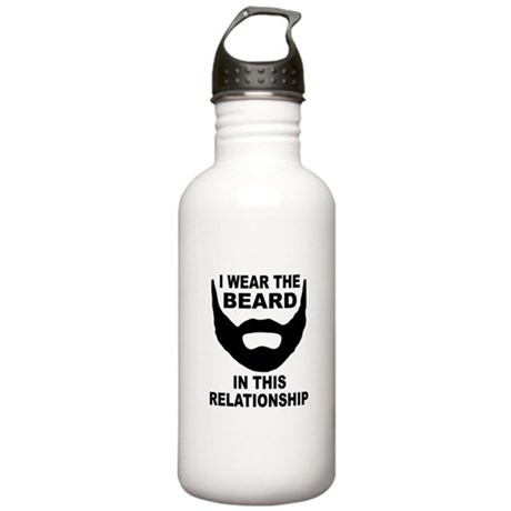I Wear The Beard Stainless Water Bottle 1.0L