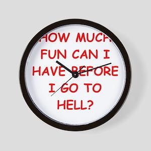 fun Wall Clock