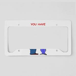pun License Plate Holder