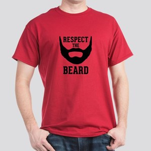 Respect The Beard Dark T-Shirt