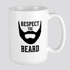 Respect The Beard Large Mug