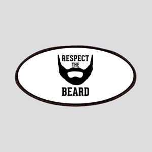 Respect The Beard Patches