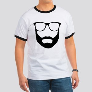 Cool Beard Dude Ringer T
