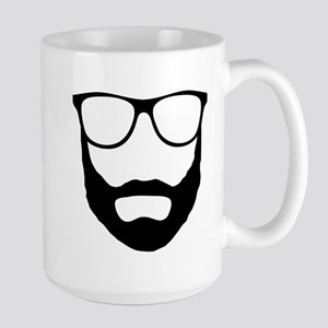 Cool Beard Dude Large Mug