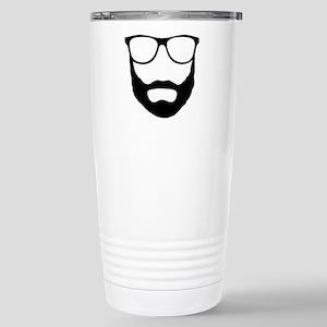 Cool Beard Dude Stainless Steel Travel Mug