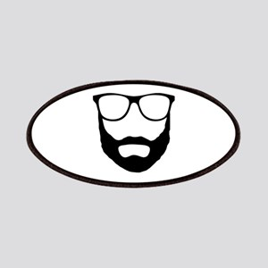 Cool Beard Dude Patches