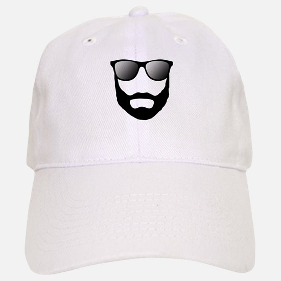 Cool Beard Dude Baseball Baseball Cap