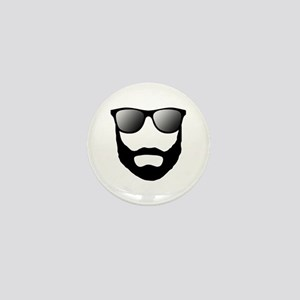 Cool Beard Dude Mini Button