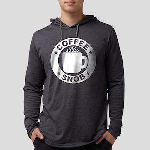 Coffee Snob Mens Hooded Shirt