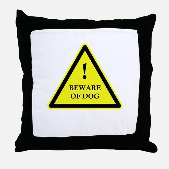 Sign Test Throw Pillow