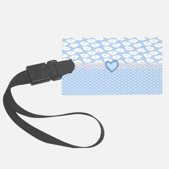 Inspired Lips Luggage Tag