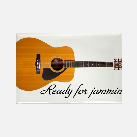 ready for jammin Rectangle Magnet