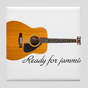 ready for jammin Tile Coaster