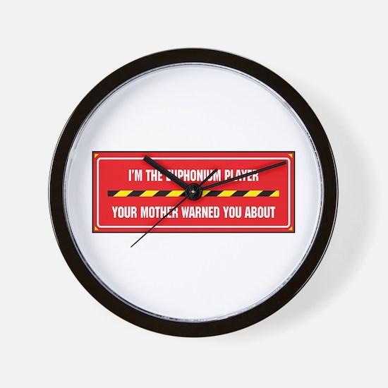 I'm the Euphonium Player Wall Clock