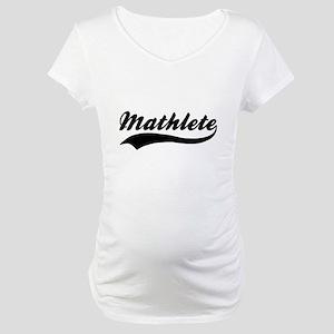 Mathlete - Math Nerd Maternity T-Shirt