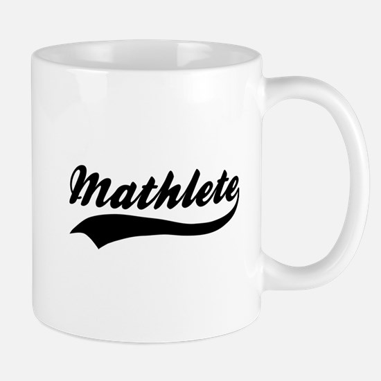 Mathlete - Math Nerd Mug
