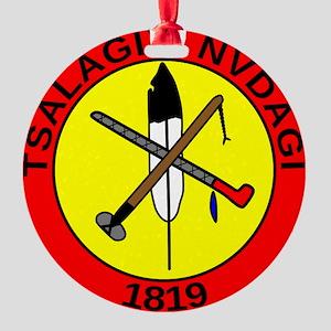 Tsalagiyi Nvdagi Seal Round Ornament