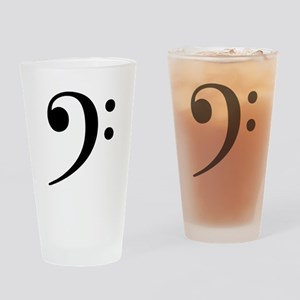 Bass Clef - Music Symbol Drinking Glass