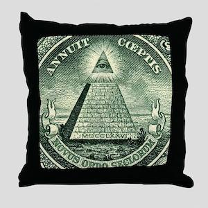 THC Militia Throw Pillow