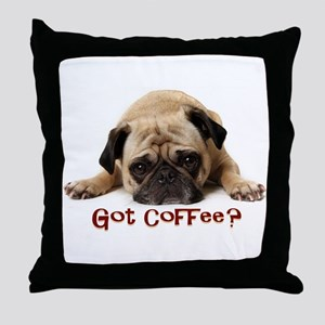 Got Coffee? Throw Pillow