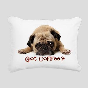 Got Coffee? Rectangular Canvas Pillow