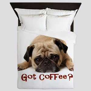 Got Coffee? Queen Duvet