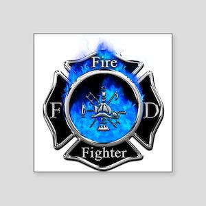 Firefighter Maltese Cross Sticker