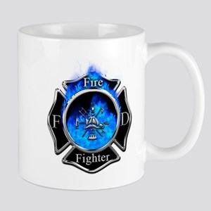 Firefighter Maltese Cross Mugs