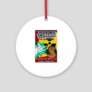 Conan the Bacterium Ornament (Round)