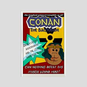 Conan the Bacterium Rectangle Magnet
