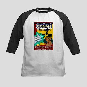 Conan the Bacterium Kids Baseball Jersey