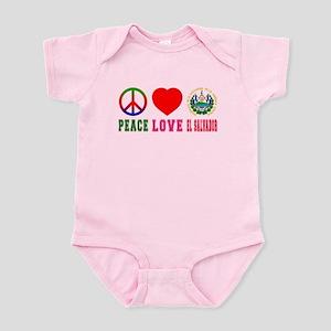 Peace Love El Salvador Infant Bodysuit