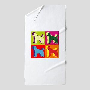POODLE Beach Towel