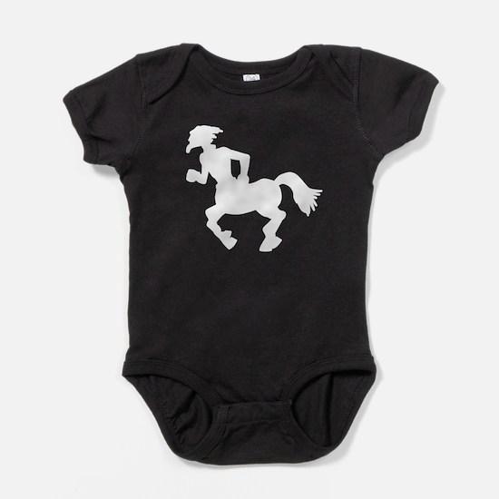 Centaur Silhouette Baby Bodysuit