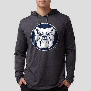Butler Bulldog Circle Mens Hooded Shirt