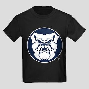 Butler Bulldog Circle Kids Dark T-Shirt
