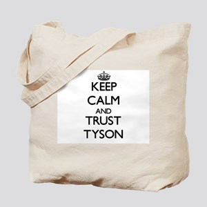 Keep calm and Trust Tyson Tote Bag